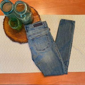 Rock & Republic Berlin Boxcar Stripe Skinny Jeans